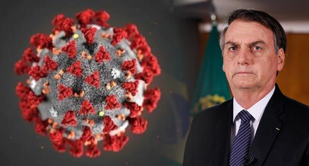 الرئيس البرازيلي جايير بولسونارو يعلن إصابته بفيروس كورونا