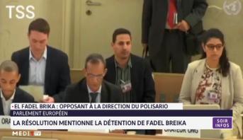 La résolution du Parlement européen mentionne la détention de Fadel Breika