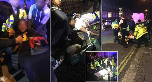 Londres: Une voiture fonce sur des passants devant une mosquée, au moins deux blessés