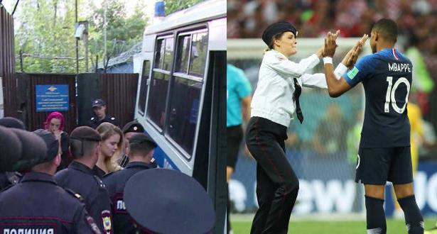 اعتقال مقتحمي ملعب نهائي كأس العالم 2018 بتهم جديدة