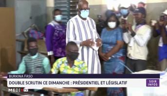 Burkina Faso: double scrutin ce dimanche, présidentiel et législatif