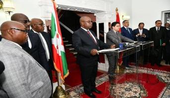 Ezechiel Nibigira : l'ouverture d'un consulat du Burundi à Laâyoune témoigne de l'attachement du Burundi à la légalité internationale