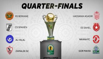 Coupe de la CAF: le tirage au sort des quarts de finale