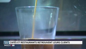 Maroc/ Déconfinement: cafés et restaurants retrouvent leurs clients