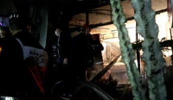 مصرع شخصين في حريق بأحد مقاهي طنجة