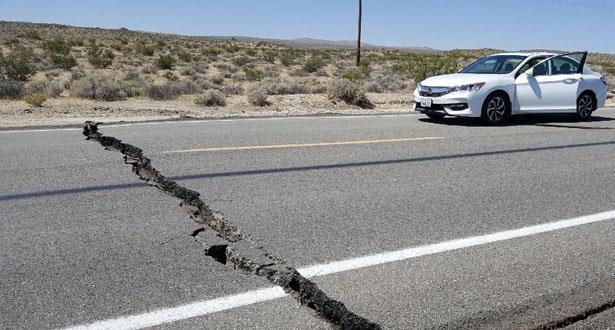 زلزال بقوة 6,4 درجة يضرب جنوب كاليفورنيا