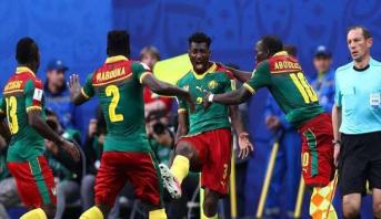 منتخب الكاميرون بعد أزمة مستحقات يحل بمصر