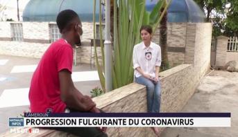 Cameroun: progression fulgurante du coronavirus