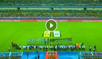 فيديو.. عطب تقني يحرج منظمي مباراة الكاميرون و بوركينافاسو