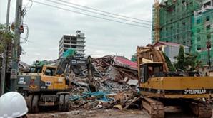 انهيار مبنى في كمبوديا: 28 قتيلا وشخصان نجيا بأعجوبة