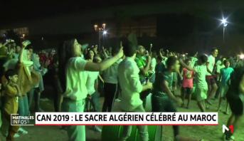 CAN 2019: le sacre algérien célébré au Maroc