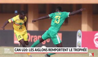 CAN U20: les aiglons remportent le trophée