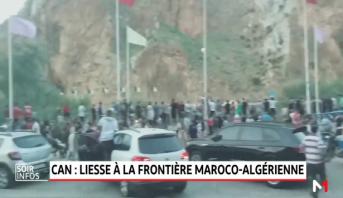 CAN: scènes de liesse à la frontière maroco-algérienne après la qualification de l'Algérie