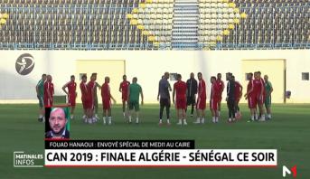 CAN 2019: la finale entre l'Algérie et le sénégal
