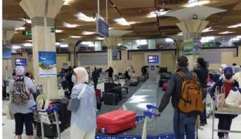 المغاربة العالقون بالخارج .. وصول أزيد من 300 مواطن مغربي عائدا من كندا إلى مطار أكادير المسيرة