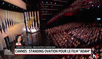 """Festival de Cannes: Standing ovation pour le film """"Adam"""""""