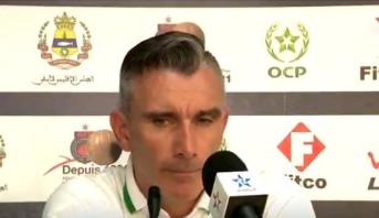 تصريح مدرب الرجاء عقب فوز فريقه أمام أولمبيك آسفي