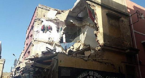 الدار البيضاء .. انهيار جزئي لمنزلين آيلين للسقوط دون وقوع إصابات بشرية