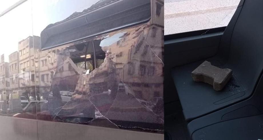 الدار البيضاء .. تكسير حافلة جديدة بعد أقل من 24 على التدشين