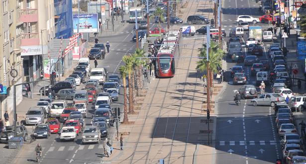 دراسة : سكان الدار البيضاء يقومون بإنجاز7.8 مليون من التنقلات يوميا