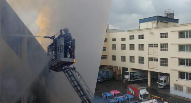 Incendie dans une unité de confiserie à Casablanca: dégâts matériels