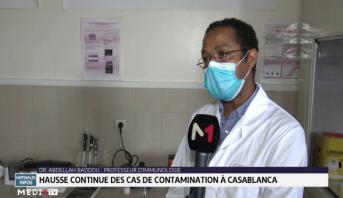 Covid-19: hausse continue des cas de contamination à Casablanca