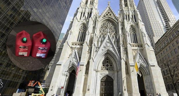 تفاصيل جديدة عن الشخص الذي أوقف في كاتدرائية في نيويورك وبحوزته عبوتي بنزين