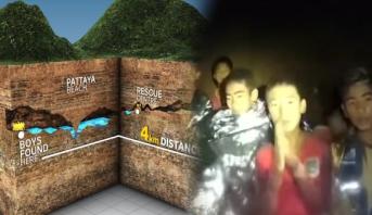"""فيديو وصور .. تفاصيل القصة الكاملة لمأساة """"أطفال الكهف"""" في تايلاند"""