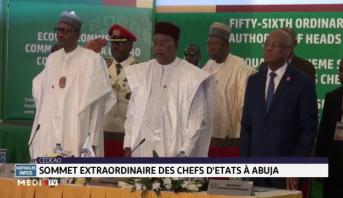 CEDEAO: clôture du sommet extraordinaire des chefs d'État à Abuja