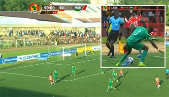 """فيديو .. مهارات لاعب بوروندي أمام """"الأسود"""" تحت مجهر """"الكاف"""""""