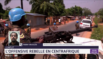 Centafrique: les casques bleus reprennent le contrôle