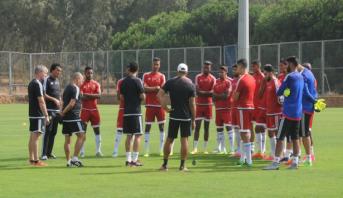 المنتخب المغربي للمحليين يخوض مباراة ودية أمام نظيره الكاميروني