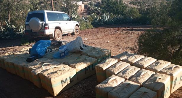 DGSN: saisie de près de 3 tonnes de chira à Driouech