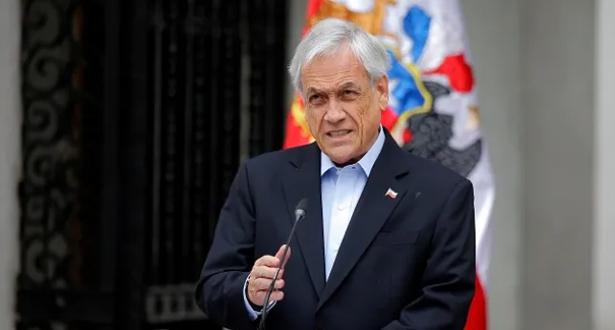 تغريم الرئيس الشيلي بسبب صورة له بدون كمامة