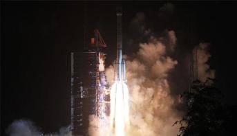 الصين تطلق قمرا صناعيا جديدا للاتصالات