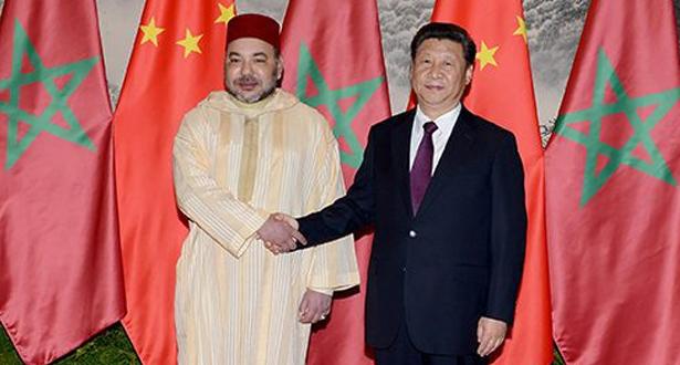الملك محمد السادس يجري مباحثات هاتفية مع شي جينبينغ رئيس جمهورية الصين الشعبية