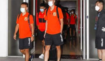 الأندية الصينية تدخل في عزل لمدة 70 يوما استعدادا لاستئناف الدوري