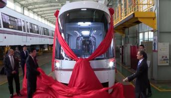 شركة صينية تعلن تصميمها قطارا مضادا للانفجار بطلب من إسرائيل