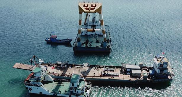 انتشال حطام سفينة حربية صينية غارقة ترجع إلى أكثر من مائة سنة