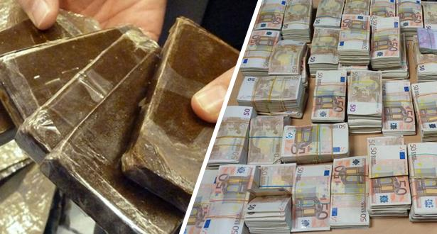 إحباط تهريب كمية من المخدرات ومبالغ مالية مهمة بالعملة الصعبة بمعبر باب سبتة