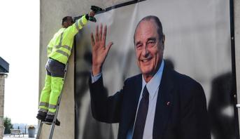 """الفرنسيون يكرمون جاك شيراك """"الرئيس المحبوب"""""""
