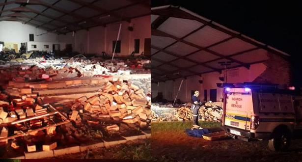 انهيار كنيسة في جنوب إفريقيا يخلف 13 قتيلا
