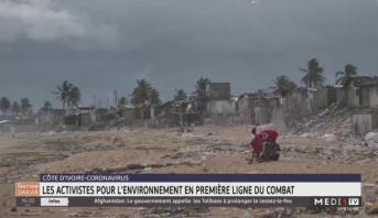 Coronavirus: en Côte d'Ivoire, les activistes pour l'environnement en première ligne du combat