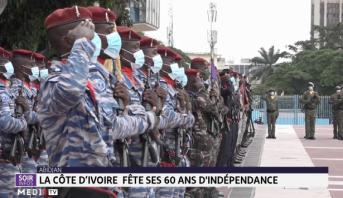 La Côte d'Ivoire fête ses 60 ans d'indépendance