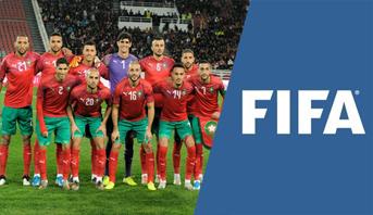 Le Maroc se maintient à la 43ème position au classement Fifa