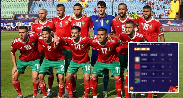 بعد مباراة الكوت ديفوار .. ترتيب مجموعة المغرب