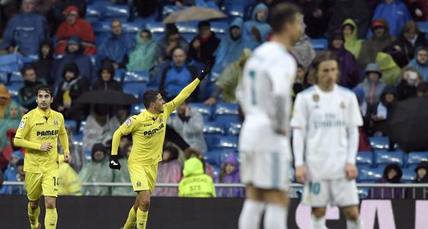 Le Real Madrid, en pleine déprime, chute contre Villarreal (1-0)