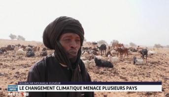 Le changement climatique menace plusieurs pays