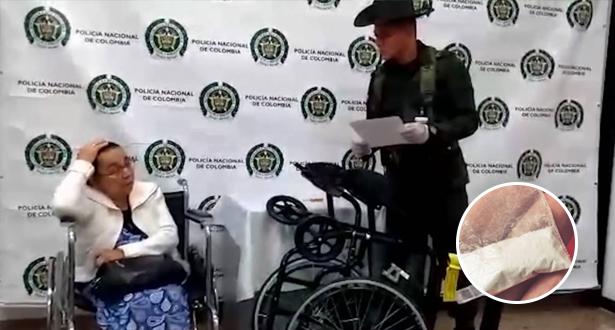 كولومبية ذات 81 عاما تحاول تهريب الكوكايين نحو اسبانيا باستعمال كرسيها المتحرك