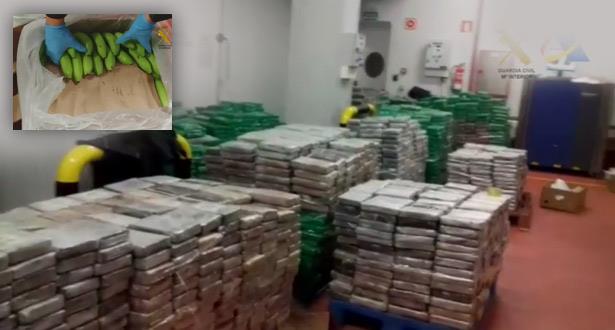 Près de 6 tonnes de cocaïne saisies au port d'Algésiras